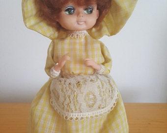 Doll vintage piggy musical
