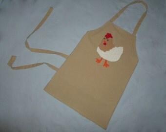 Homemade Chicken Bib Apron