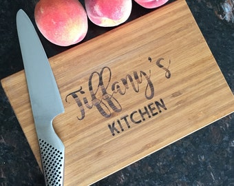 Gift For Mom - Laser Engraved Cutting Board - Gift for Her - Personalized Gift - Housewarming -