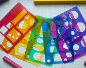 Rainbow Set - Planner Stencils