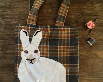 Snowshoe Hare Tote