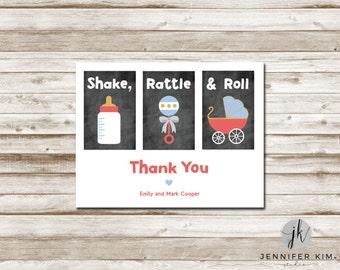 Shake, Rattle & Roll - Thank You - Digital File