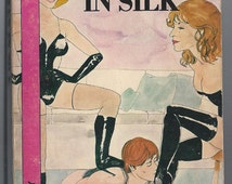 The Man in Silk Cross Dressers Book Club 1981 Transgender BDSM Transvestite Femdom Feminization Kink Rare
