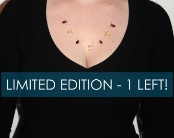 Autumn Leaves Illusion Necklace