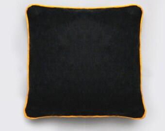 Mustard Piped Cushion