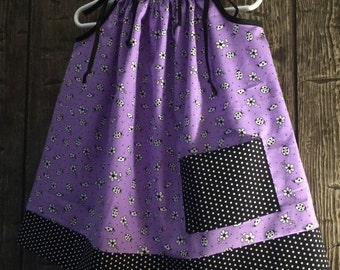 Ladybug and Dots Pillowcase Dress