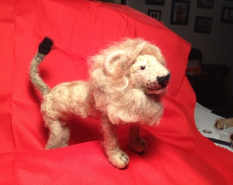 Felted Lion