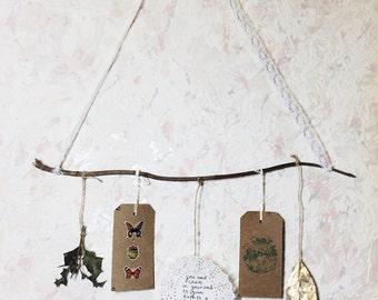 Bohemian Natural Wall Hanging / Room Decor