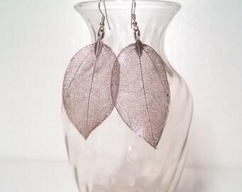 Silver High Fashion Earrings Modern Drop or Dangle Earrings Vintage