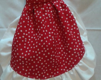 Ruffled Bag Holder