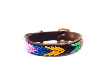 Makini Beaded dog collar