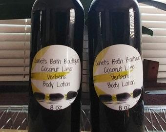 Body Lotion / 8 oz / Shea Butter Body Lotion / Creamy Lotion / Daily Moisturizer / Moisturizing Body Lotion / Handmade Lotion / Lotion / Spa