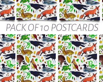 Ohioan Animal Postcard Pack