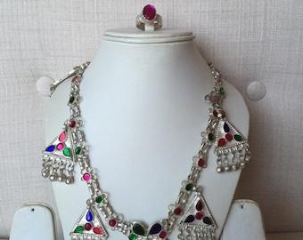 Kuchi Tribal Necklace & Ring