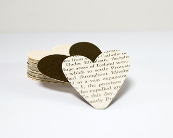 "2"" Heart Paper Confetti 