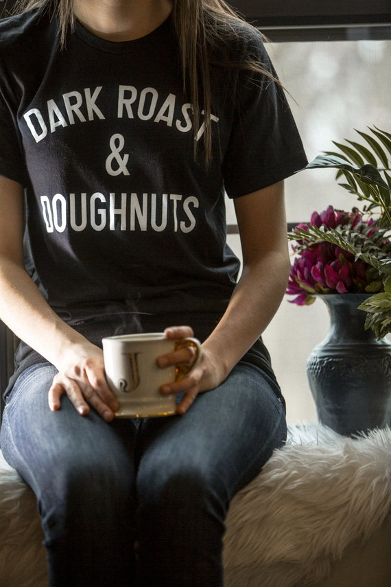 Dark Roast & Donuts Tee