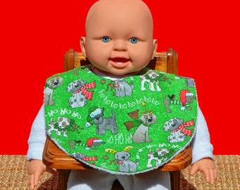 Christmas bib - Christmas clothing - Baby bib - Baby's 1st Christmas - Baby gifts - Baby shower gifts - Baby Christmas gift - Dog bib