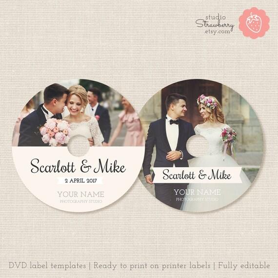 Wedding dvd labels dvd label template cd labels wedding cd