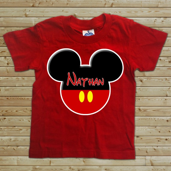 Disney Custom T Shirt