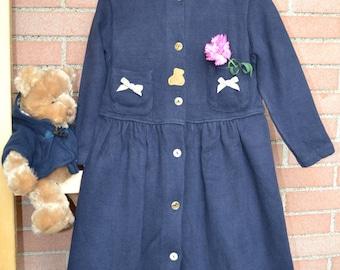dress girl vintage