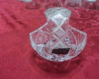 Violetta Crystal Basket
