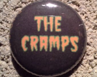 The Cramps one inch pinback button(s)