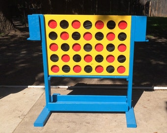 Giant Sized Connect Four Game, Outside Game, Patio Game, Made In Texas LOCAL DELIVERY ONLY