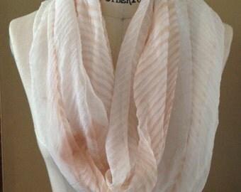Arashi shibori infinity scarf