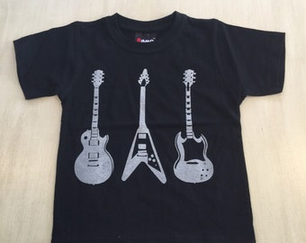 Childrens guitars t-shirt