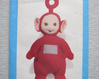 Butterick Teletubbies PO toy sewing pattern 5968