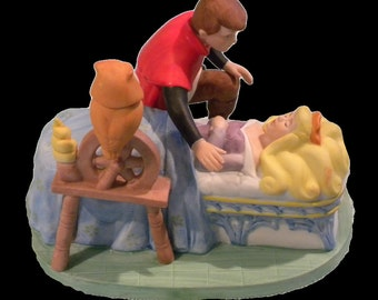 Walt Disney Sleeping Beauty Limited Edition Ceramic Bisque Figurine