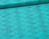 Avant Garde Fluxus Teal Fabric by Katarina Roccella for Art Gallery Fabrics