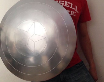 Captain America Shield Vibranium 24""