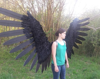 Pneumatic Animatronic Articulated Wings Angel Demon [10FT Wingspan]