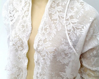 RESERVED Beautiful Edwardian blouse jacket 1910s lace vintage antique