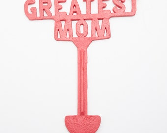 Colehaus Designs Greatest Mom Cemetery Decoration Grave Memorial Ornament