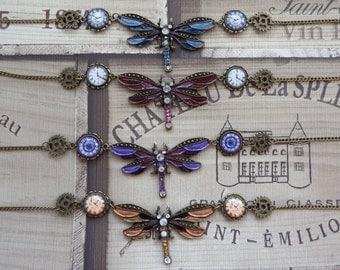 Tempus Fugit (Time Flies) Necklace