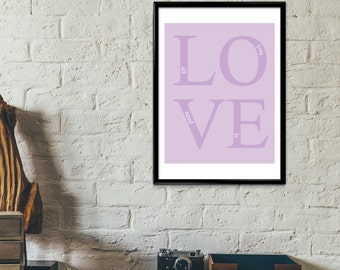 All You Need Is Love Poster Print