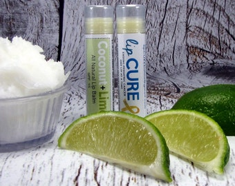 Coconut Lime All Natural Lip Balm