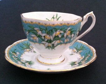 Queen Ann 'Marilyn' cup and saucer set