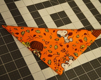 Fall Charlie Brown Bandana
