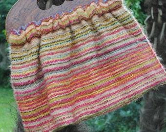 wool handbag 1970s