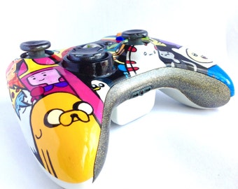 Adventure Time Hand Painted custom controller