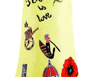 Children's Italia Is Love Dress