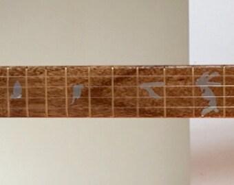 Hand Built Custom 4 String Electric Cigar Box Guitar