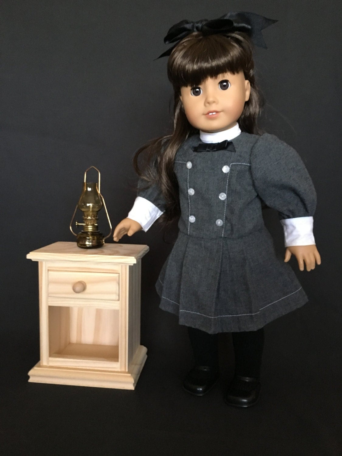 Nightstand For American Girl And All Other 18 Dolls