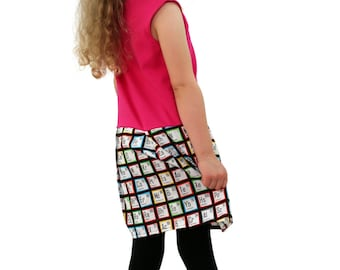 Chemistry Pocket Play Dress Periodic Table Pink
