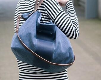 Henkel -, shoulder / cross body bag blue bag