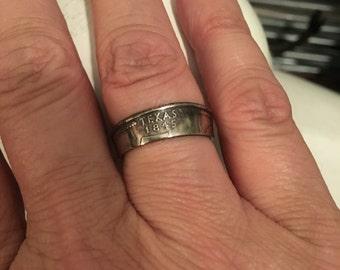 Texas Quarter Ring