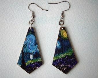 """Earrings """"Starry Night"""""""